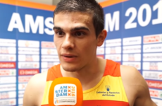 'You don't know about the disqualification?' - Spanish athlete finds out he's won gold on TV