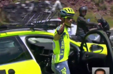 Two-time champion Alberto Contador sensationally quits the Tour mid-stage