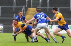 Clare footballers launch comeback to defeat Laois and complete brilliant Banner GAA weekend