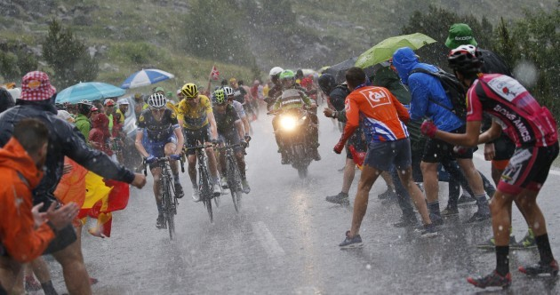 Ireland's Dan Martin is now in third place overall at the Tour de France
