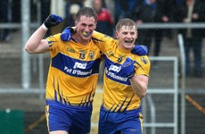 Dual star! Podge Collins helps Clare to two big wins in the space of 21 hours