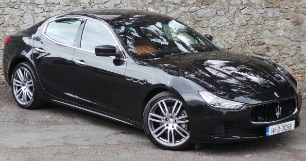 Dream car of the week: Maserati Ghibli 3.0 V6