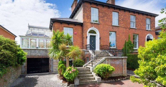 There's a seven-bedroom home in Ballsbridge for sale