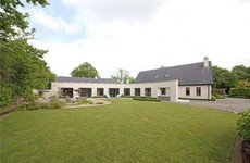 Here's a very modern Kildare bungalow to check out