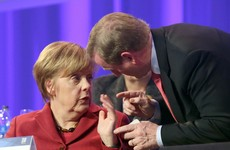 Enda is meeting Angela in Berlin today to talk about Brexit