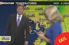 A news anchor interrupted a live weather forecast so she could catch a Pokémon