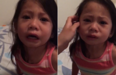 This little girl had the most dramatic reaction to learning about her sister's period