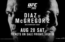 The UFC 202: Diaz v McGregor undercard has lost one of its biggest fights
