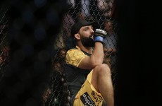 The wheels have come off for one of the UFC's most popular recent champions