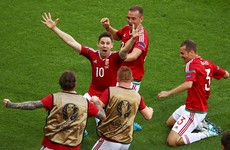 Gera half-volley unfairly beats Shaqiri's bicycle-kick to Euro 2016 Goal of the Tournament