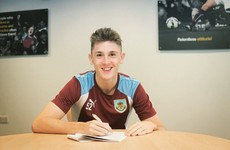 Young Irish defender Jimmy Dunne swaps Man United for Burnley