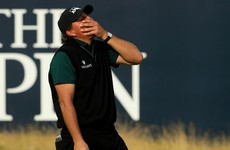 'I want to cry. That stings' - Mickelson reflects after flirting with major history