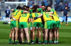 Big defensive name back in Donegal side after suspension for Ulster final against Tyrone