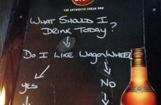 This Donegal bartender's 'chalkboard of wisdom' is pure sass
