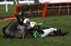 Nasty fall leaves Barry Geraghty facing surgery and two months out of action