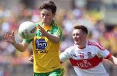 Good start to the day for Donegal with victory over Derry in Ulster minor football final