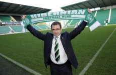 Fenlon relishing the challenge as he signs up with Hibs