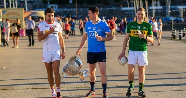 Sun, ice cream and the pier: 17 of the best All-Ireland football launch pics