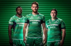 Connacht release new hooped home jersey for this season
