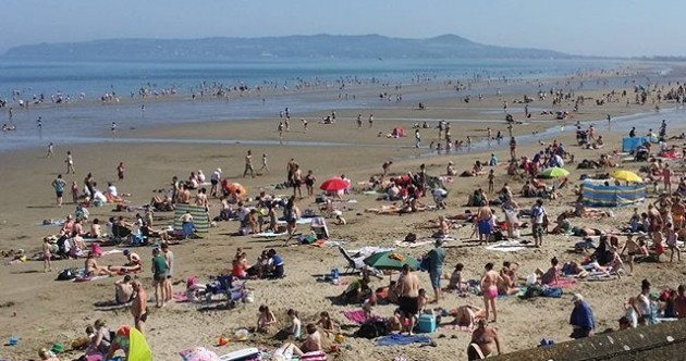 9 photos of Portmarnock beach looking absolutely tropical in the sun