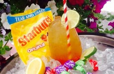 A pub in Kildare has just created this Starburst cocktail