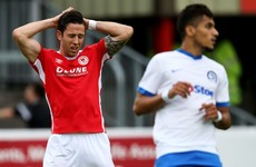 Saints bow out of Europe after narrow defeat to Dinamo Minsk