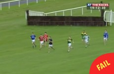 A GAA player has gone viral after snotting himself in Limerick