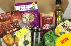 This company is putting together lovely boxes of Irish food to ship to emigrants