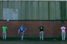 Wheelie bins and house kicks: Ulster stars test their skills in 'street football'
