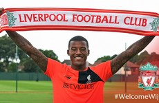 Liverpool complete €30m move for Dutch midfielder Wijnaldum