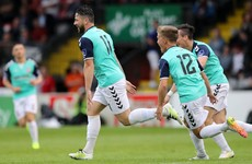 Derry take all 3 points from Dalymount and close the gap on Cork