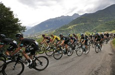 Froome crashes at the Tour de France... but still manages to extend his lead