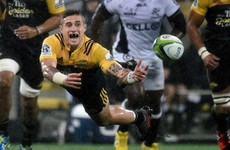 TJ Perenara stars as Hurricanes blow Sharks away in Super Rugby 1/4 final