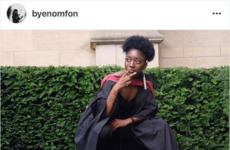 Everyone is loving this drama student's graduation message to her old lecturer