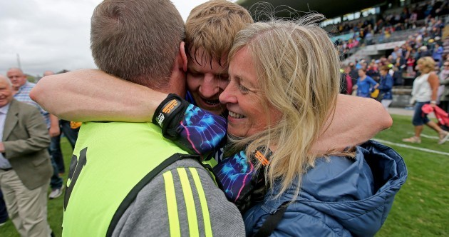 Family affair as Podge Collins celebrates Clare victory with father and mother