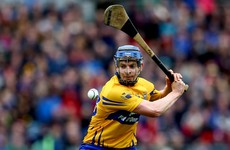 Clare football hero Podge Collins starts for the hurlers tomorrow