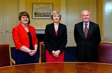 Theresa May expected to rule out return to border checks when she visits Northern Ireland today