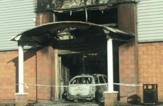 Car driven into Coolock gym and set alight