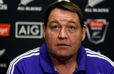 All Blacks extend Hansen's contract through to 2019 World Cup