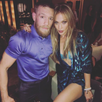 Conor McGregor was at J-Lo's birthday party with Ronaldo... It's The Dredge