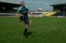 Watch as Henry Shefflin shows why he's the hurling tricks king