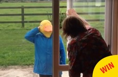 This Irish girl came home in disguise from America to surprise her lovely mam