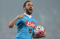 Gonzalo Higuain becomes third most expensive player ever as Juve splash out €90m