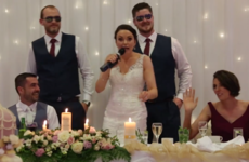 A bride from Mayo rapped her wedding speech to Ice Ice Baby, and it's really something