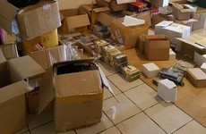 Garda raid yields boxes of fakes DVDs and cosmetics valued at €70,000