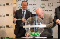 Bohs v Derry and the rest of the draw for the FAI Cup third round