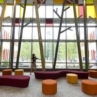 Inside the demolished and rebuilt Sandy Hook Elementary School