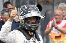 Rosberg grabs German Grand Prix pole from Hamilton in dramatic fashion
