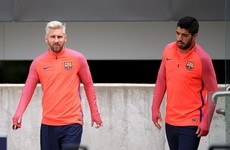 Barca stars Messi and Suarez start in Dublin, Celtic's Ireland U21 defender O'Connell gets the nod