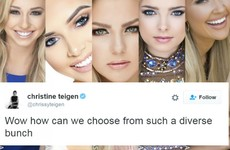 Chrissy Teigen absolutely burned the Miss Teen USA pageant with one tweet
